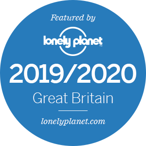 Lonely Planet sticker