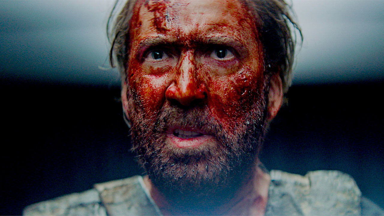 Nic Cage in Mandy