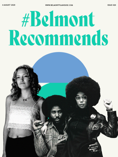 Belmont Recommends cover featuring Almost Famous and BlacKkKlansman