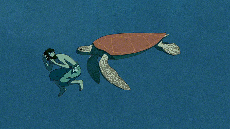 Still from The Red Turtle